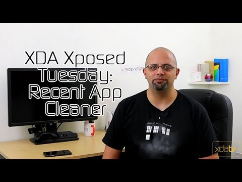 Video of Recent App Cleaner - Xposed
