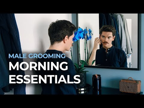 Mens hairstyles - Never Skip These Morning Hair and Grooming Steps!