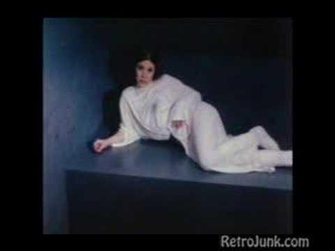 Ayúdame Obi-Wan Kenobi  Eres mi única esperanza   - La Princesa Leia en proye...