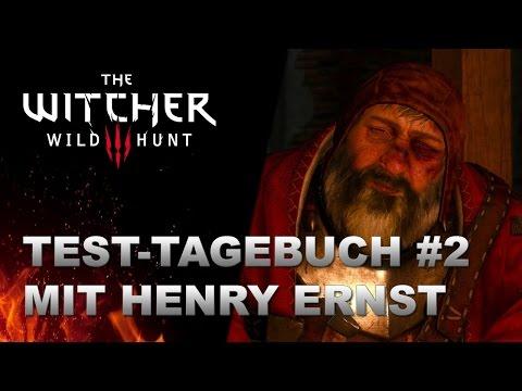 WITCHER 3 Test-Tagebuch #2 mit Henry Ernst