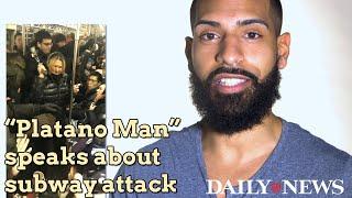 Video 'Platano Man' describes encounter with racist woman on subway MP3, 3GP, MP4, WEBM, AVI, FLV Desember 2018