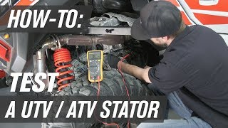 10. How To Test a UTV/ATV Stator