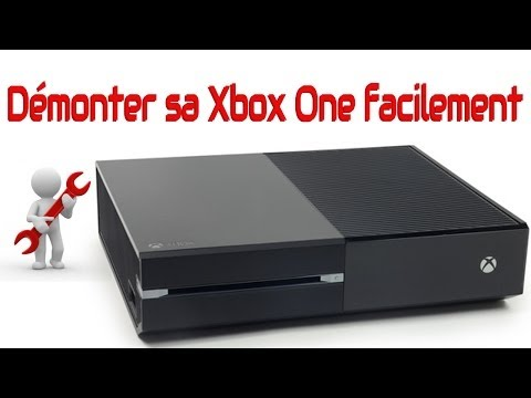 comment demonter xbox 1