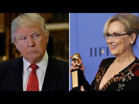 Ντ. Τραμπ: «Η Μέριλ Στριπ είναι υπερεκτιμημένη»