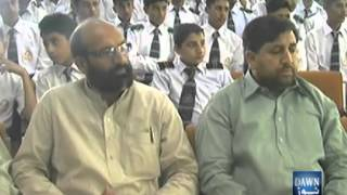 Pakistan- Mansehra Report on Naat Competition at Jinnah Colleges Mansehra, Reporter Nisar Ahmad Khan.DAWN TV