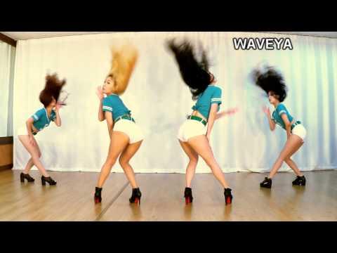 Gái Xinh Hàn Quốc Dance - Waveya - EXID UP&DOWN