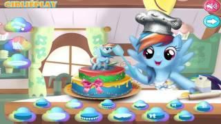 My Little Pony Cake Decoration Fun Video Games