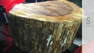 Download Lagu Wood Turning From Log to Bowl Mp3