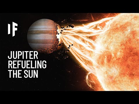 What If We Refueled the Sun With Jupiter?