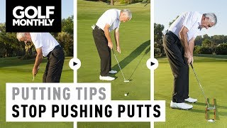 Video Putting Tips - How To Stop Pushing Putts MP3, 3GP, MP4, WEBM, AVI, FLV Mei 2018