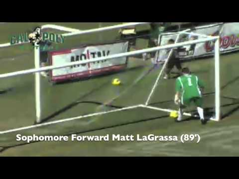 Cal Poly Men's Soccer 3, Yale 2 - The Mustang Goals (Sept. 22, 2013)