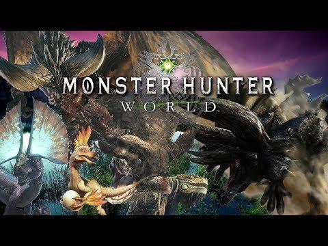 Monster Hunter World Deutsch Live Rosa Rathian (видео)