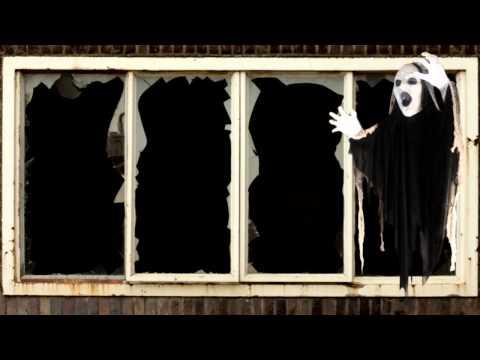 Sinister Light-Up Reaper Animated Prop 5ft – Halloween Decoration   trendyhalloween.com