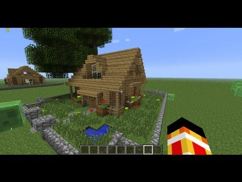 Minecraft tuto maison simple blog jeux videos for Maison moderne youtube minecraft