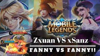 Download Video Top Global xSanz vs Zxuan pakai Fanny ~ Satunya nyerah AFK!! Skill Gak Pernah Bohong Guys!! MP3 3GP MP4
