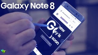 According to this design, the Galaxy Note 8 also possesses some similarities with information on the S8. This device will have a large display of 5.7