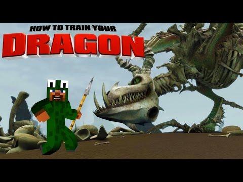 Minecraft – HOW TO TRAIN YOUR DRAGON 2 – [6] 'Boneknapper Island?'