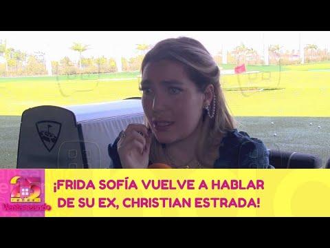 ¡Frida Sofía vuelve a hablar de su ex, Christian Estrada! | 16 de febrero 2021 | Ventaneando