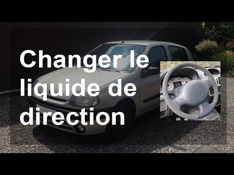 Changer/vidanger le liquide de direction - Renault Clio 2