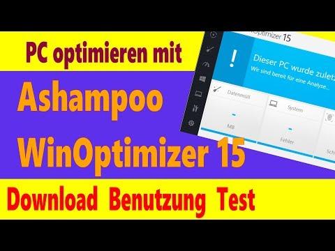 Gute PC-Tuning-Software: Ashampoo WinOptimizer 15 - Download, Test, Installation