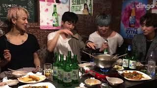 Winner 'EVERYDAY' (Drunk verse) | Yoon kissed Hoon!!!!!