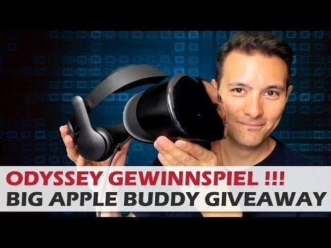 Samsung Odyssey Gewinnspiel - In Zusammenarbeit mit Big Apple Buddy