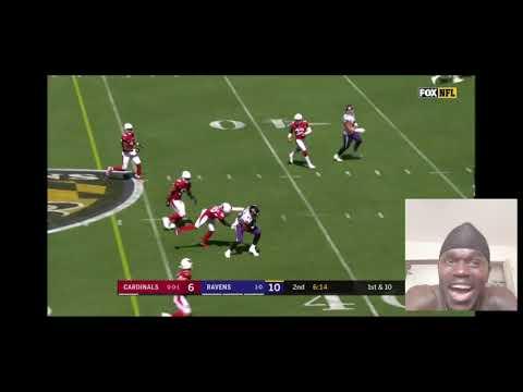 Cardinals vs. Ravens  Week 2 Highlights   NFL 2019   Reaction