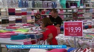 Comerciantes estão otimistas com as vendas de fim de ano em Marília