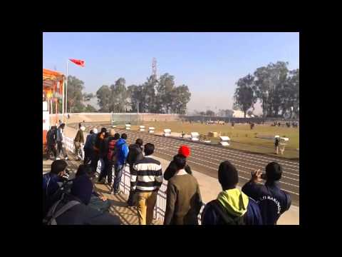 Punjabi university athletics meet 2013-14 highlights