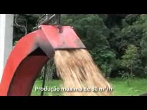 Picador Florestal Lippel PDF 420 - alta produtividade