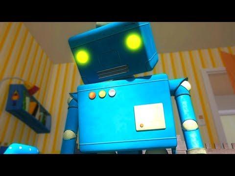 Мультики - ЙоНаЛу - Робот сошел с ума! - Развивающие песни для детей (видео)