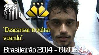 Confira tudo o que rolou fora das quatro linhas na vitória de 2 a 0 do Santos sobre o Criciúma, em partida válida pela nona...