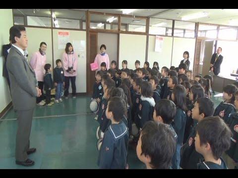 市長訪問「上田幼稚園」