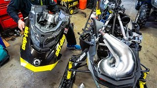 9. How to Remove hood on a 2018 Ski-Doo rev gen 4