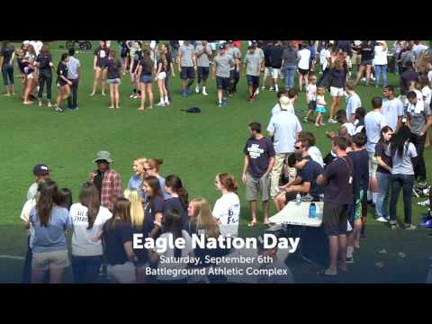 UMW Eagle Nation Day 2014