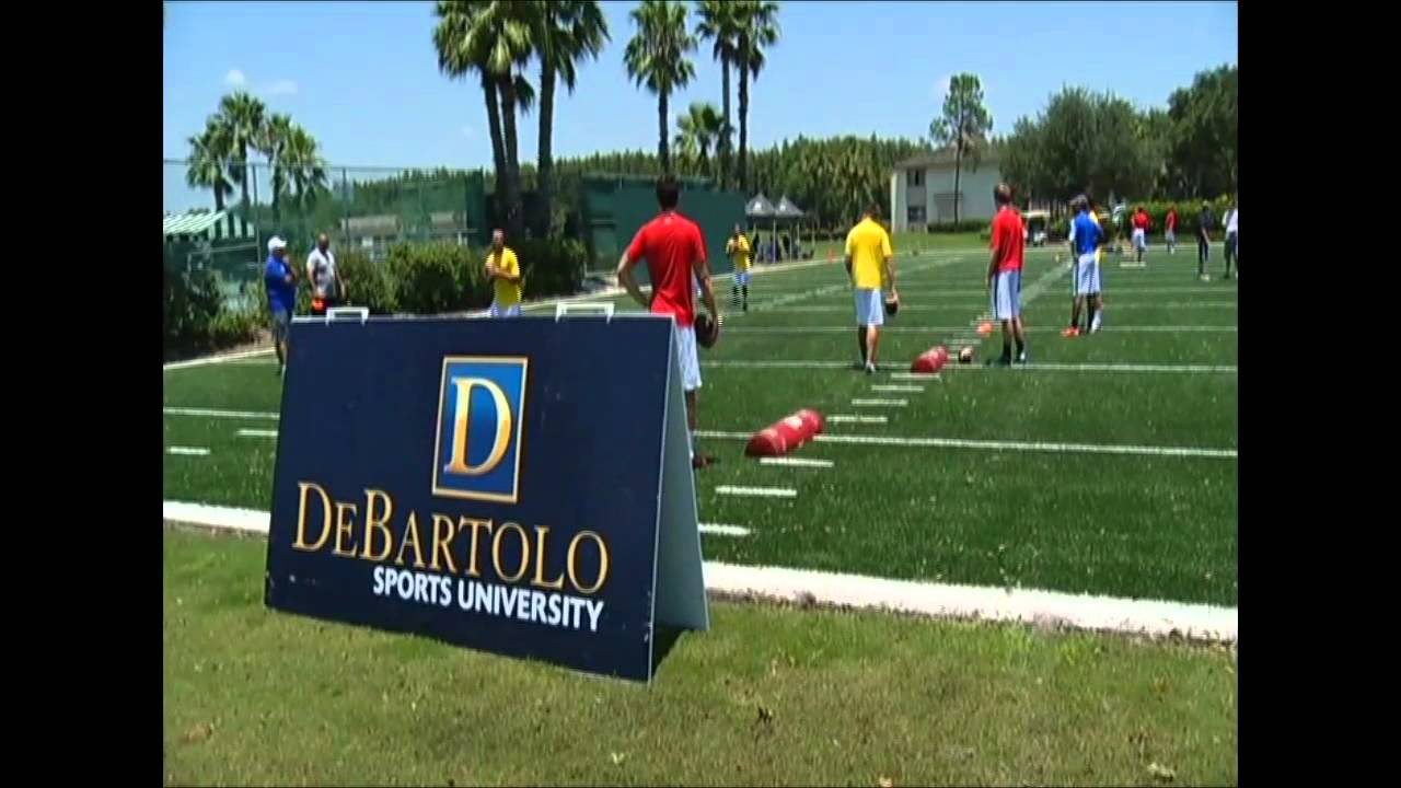 DeBartolo Football Academy Overnight Camps - Video