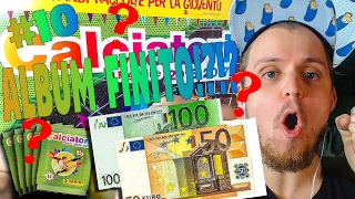 DOPO 150 EURO HO COMPLETATO L' ALBUM?!?! - ALBUM CLACIATORI PANINI 2016/2017