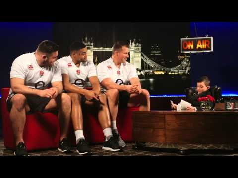 Harry Westlake interviews England stars