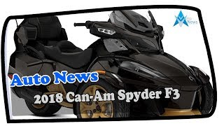 10. Low Price !!!2018 Can Am Spyder F3 Spec & Price