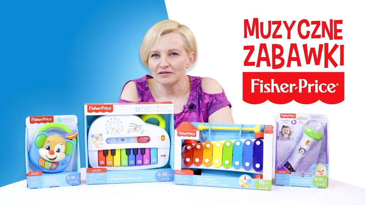 Muzyczne zabawki do Fisher-Price®