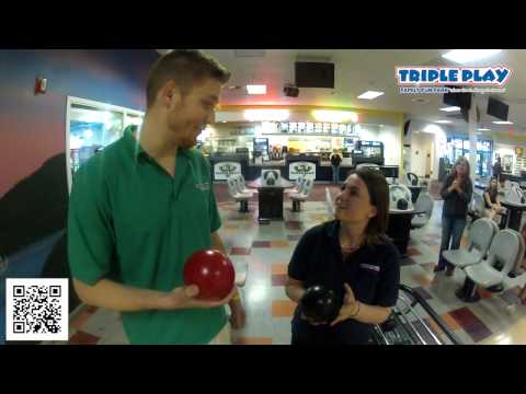 Bowling at Triple Play Family Fun Park
