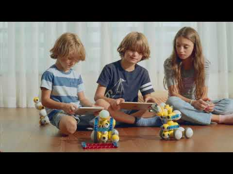 Mabot - First Hot-plugging Programming Educational STEM Robot for Kids Ages from 3 to 13