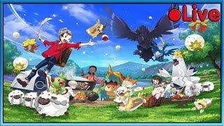 Pokemon Sword - Catching Pokemon! - • Live