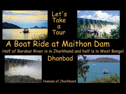 A Boat Ride at Maithon Dam | Underground power station | first in the whole of South East Asia