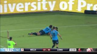 Bulls vs Lions Rd.14 2016 | Super Rugby Video Highlights