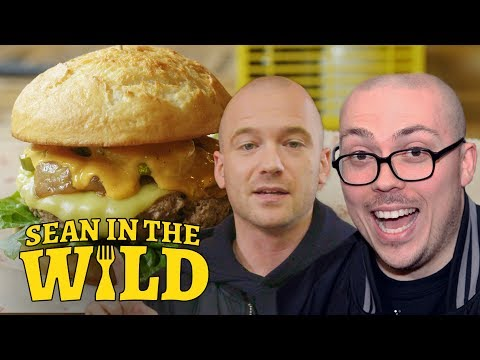 Anthony Fantano and Sean Evans review the Impossible Burger