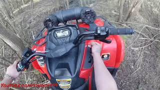 10. CAN AM 450 SEEING WHAT IT DOES!!!