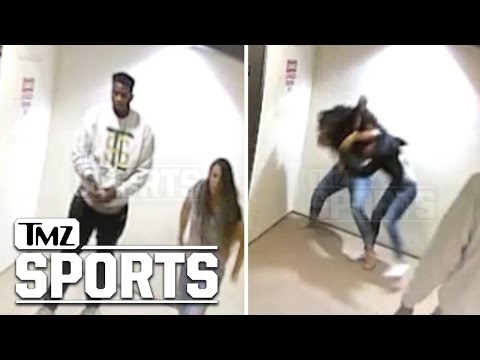 NFL Player Referees A Fight Between His GF and Baby Mamma