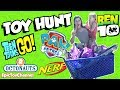 SURPRISE TOYS HUNT Octonauts & Paw Patrol + Ben 10 Teen Titans Go & Nerf Toys + Napping at Toys R Us