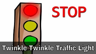 Twinkle Twinkle Traffic Light - English Nursery Rhymes - English Cartoon Nursery Rhymes